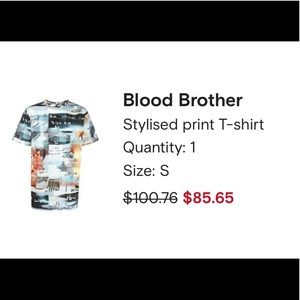 BLOOD BROTHER • Stylised print T-Shirt